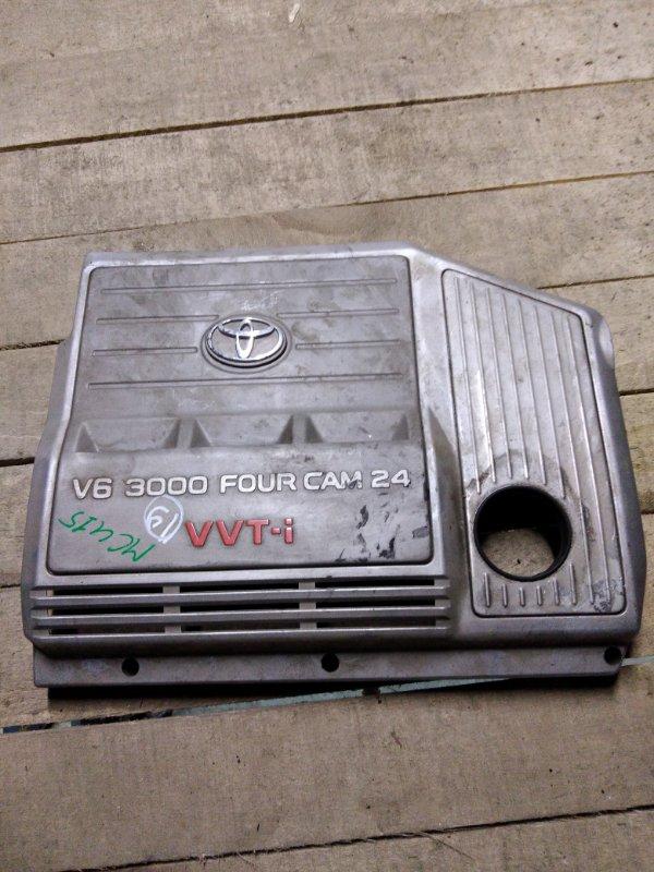 Крышка на двигатель декоративная Toyota Harrier MCU15 1MZ-FE 1999