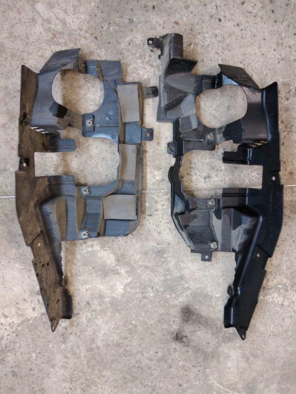 Пластиковая защита Bmw X5-Series E70 N52B30 2007 передняя