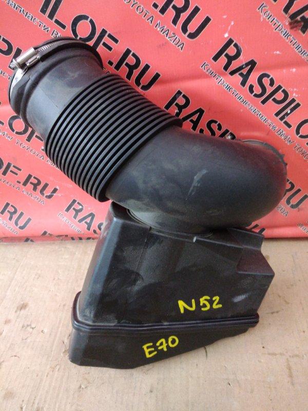 Патрубок воздушного фильтра Bmw X5 E70 N52B30 2007