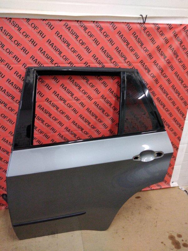 Дверь боковая Bmw X5 E70 N52B30 2007 задняя левая