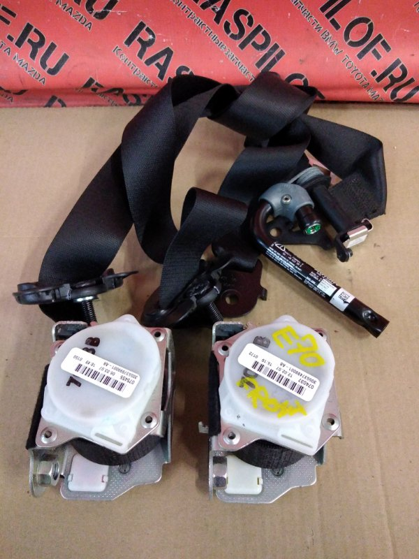 Ремень безопасности Bmw X5 E70 N52B30 2007 передний
