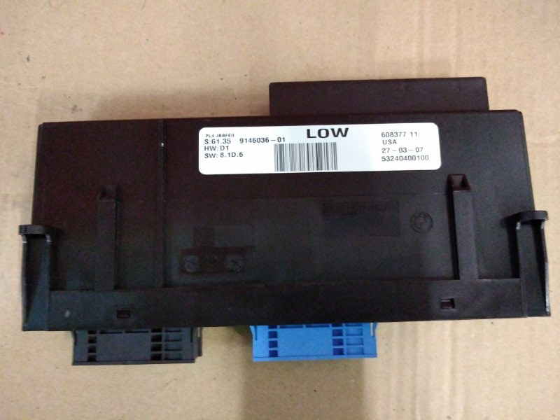 Блок управления Bmw X5-Series E70 N52B30 2007