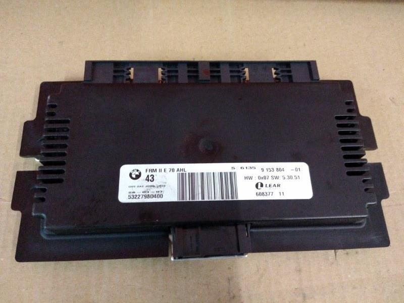 Блок управления светом Bmw X5 E70 N52B30 2007
