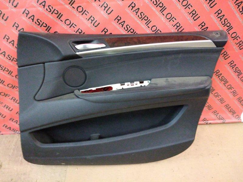 Обшивка двери Bmw X5-Series E70 N52B30 2007 передняя правая