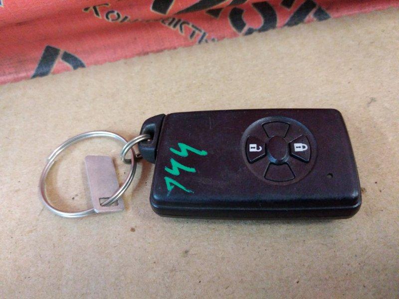 Ключ Toyota Corolla Fielder ZRE144 2ZR-FE 2010