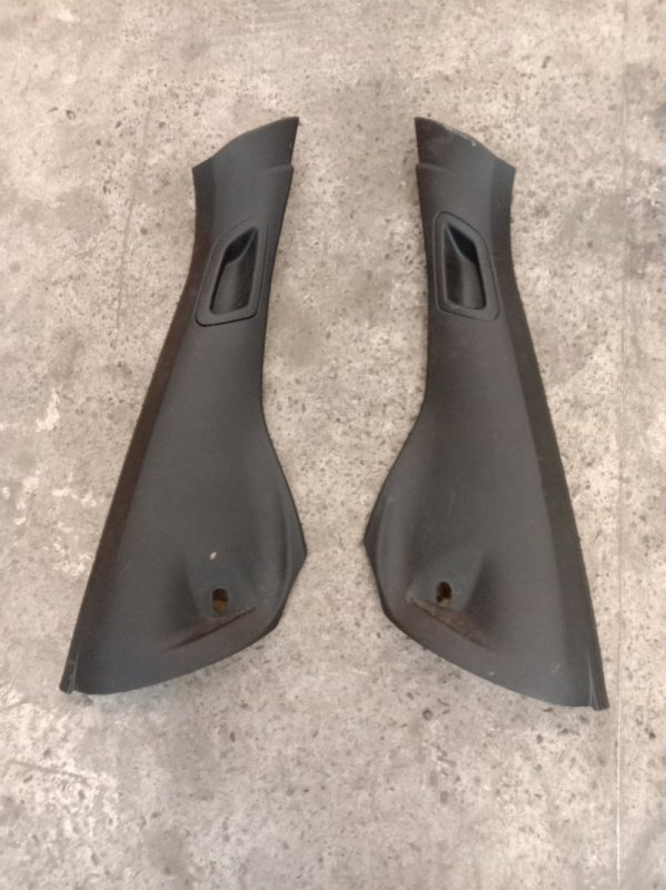 Обшивка стойки кузова Bmw X5-Series E70 N52B30 2007 нижняя