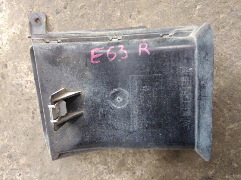 Воздухозаборник Bmw 6-Series E63 N52B30 2006 правый