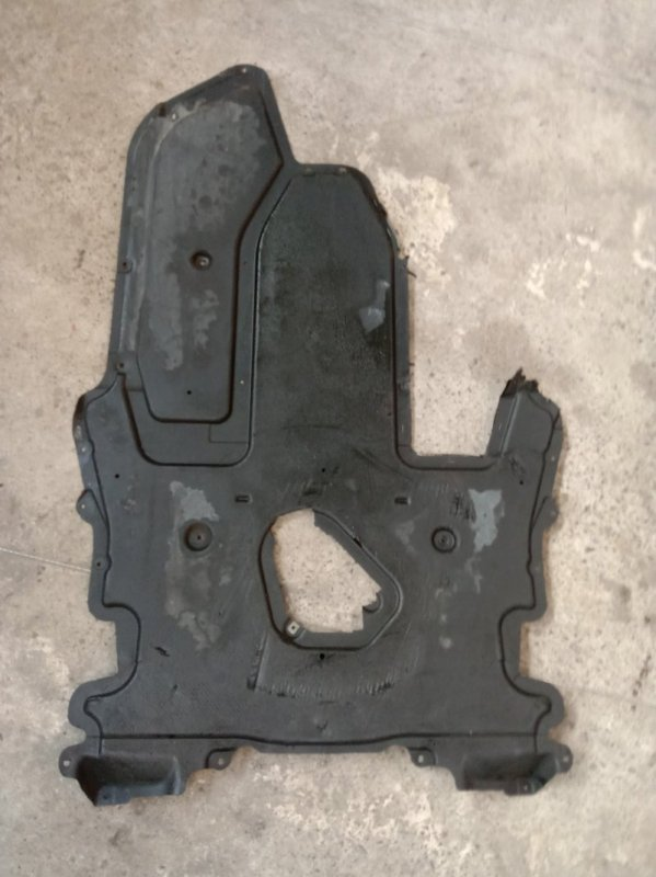 Пластиковая защита Bmw 6-Series E63 N52B30 2006