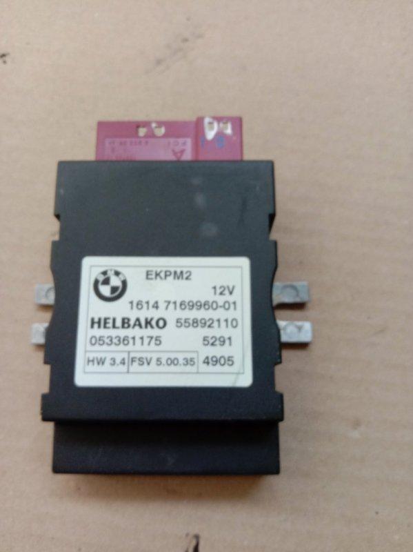 Блок управления топливным насосом Bmw 6-Series E63 N52B30 2006