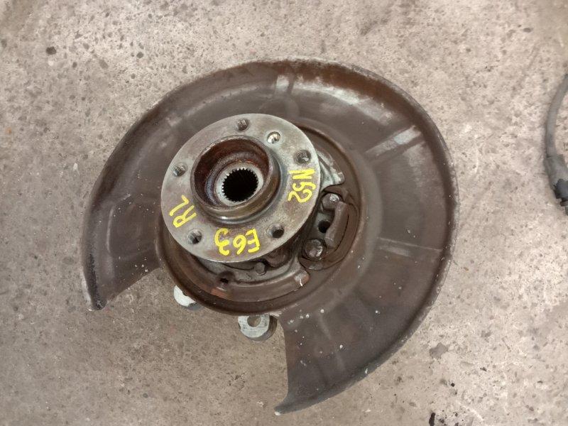 Ступица Bmw 6-Series E63 N52B30 2006 задняя левая