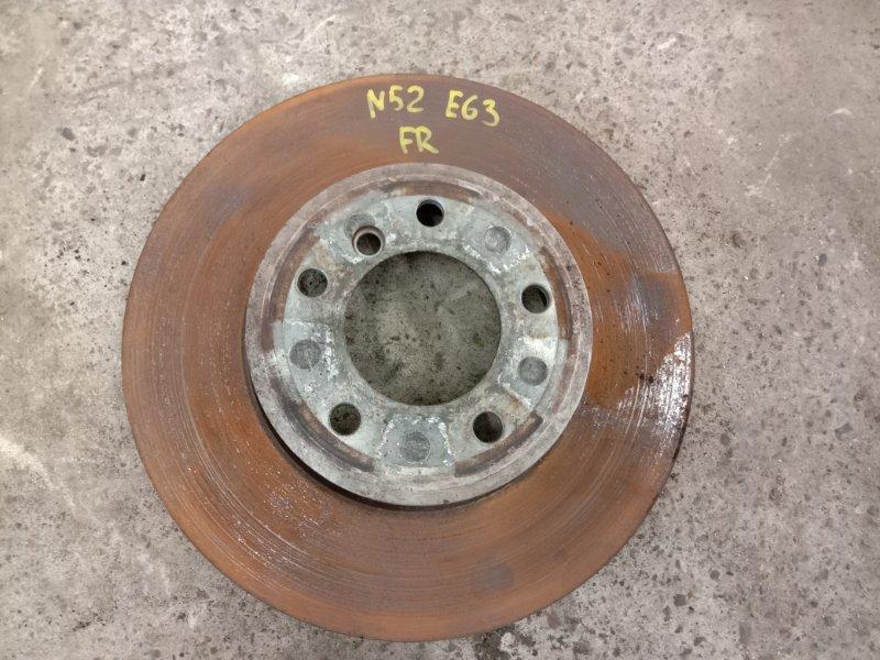 Диск тормозной Bmw 6-Series E63 N52B30 2006 передний правый