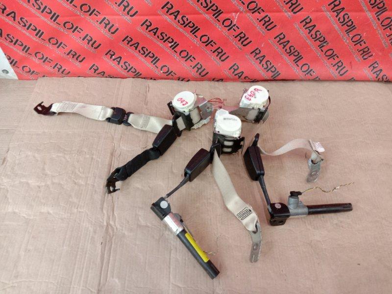 Ремень безопасности Bmw 5-Series E60 N52B30 2008 задний