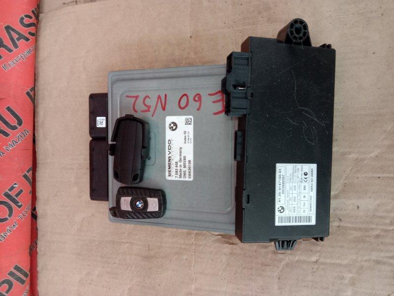 Блок управления двс Bmw 5-Series E60 N52B30 2008