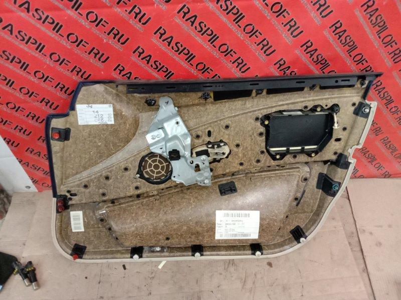 Обшивка двери Bmw 5-Series E60 N52B30 2008 передняя левая
