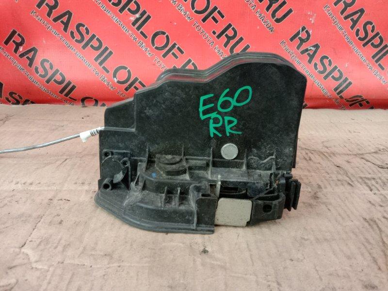 Замок дверной Bmw 5-Series E60 N52B30 2008 задний правый