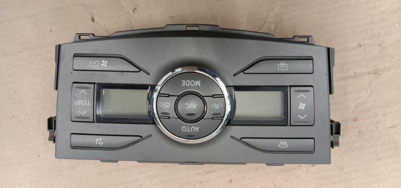 Блок управления климат-контролем Toyota Corolla Fielder NZE144G 1NZ-FE 2010