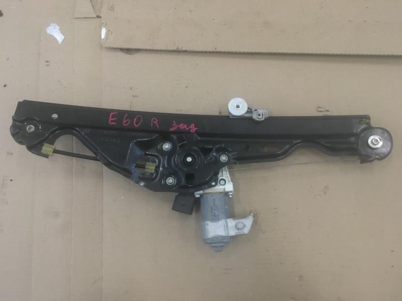 Стеклоподъемник Bmw 5-Series E60 N52B30 2008 задний правый