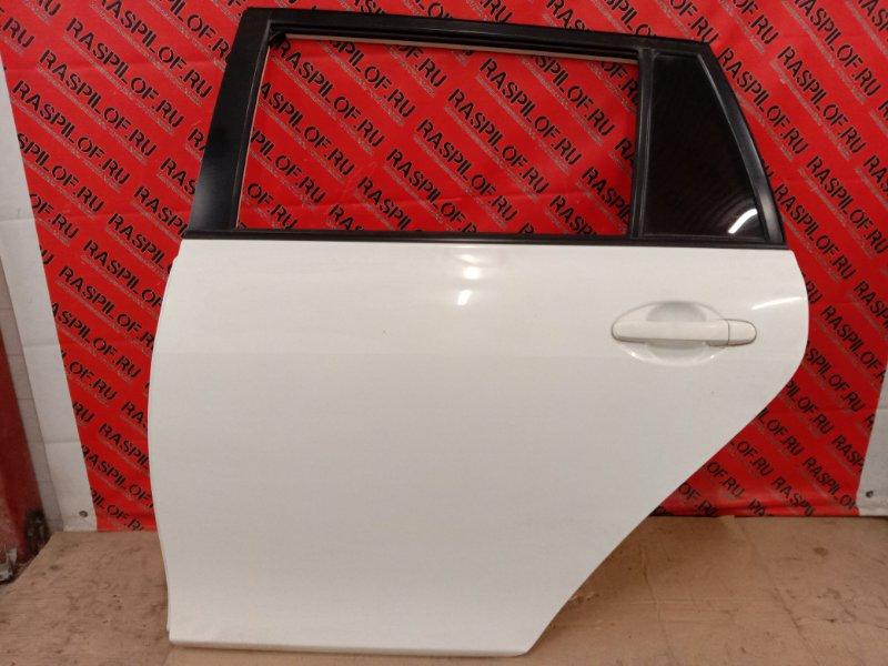 Дверь боковая Toyota Corolla Fielder NZE144 1NZ-FE 2010 задняя левая