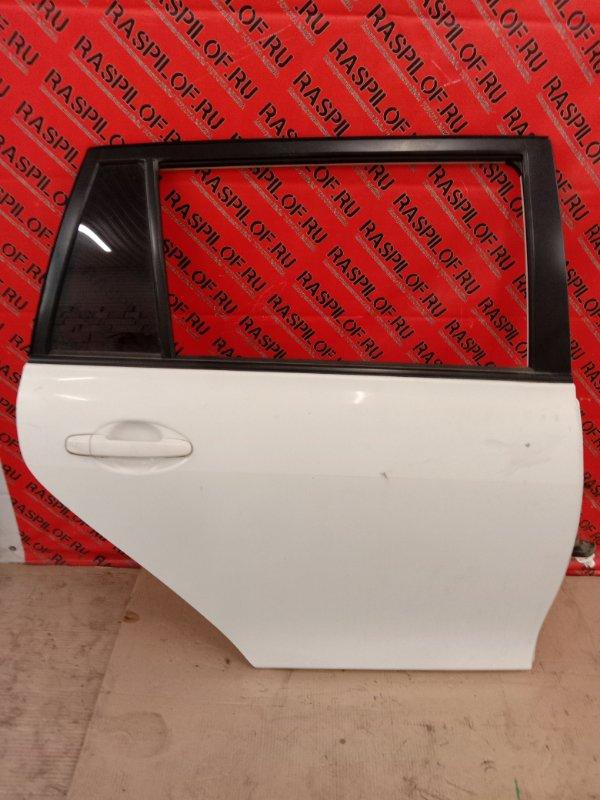 Дверь боковая Toyota Corolla Fielder NZE144 1NZ-FE 2010 задняя правая