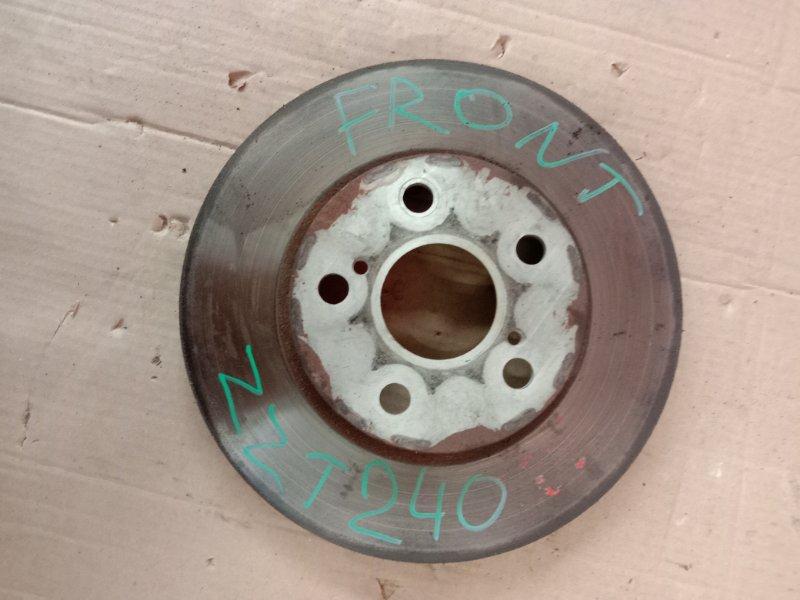 Диск тормозной Toyota Premio ZZT240 1ZZ-FE 2004 передний