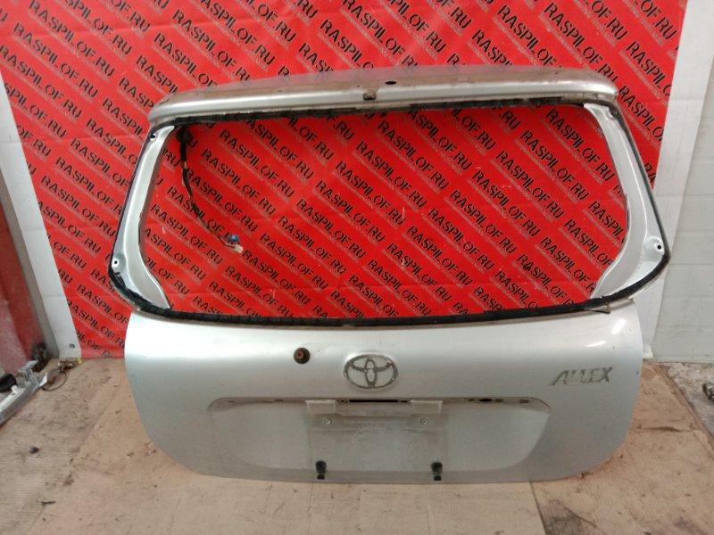 Дверь задняя багажника Toyota Corolla Runx ZZE122 1ZZ-FE 2003