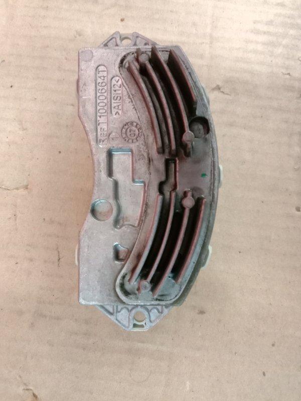 Реостат печки Bmw X5 E70 N62B48 2008