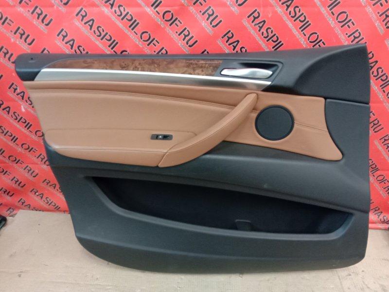 Обшивка двери Bmw X5 E70 N62B48 2008 передняя левая