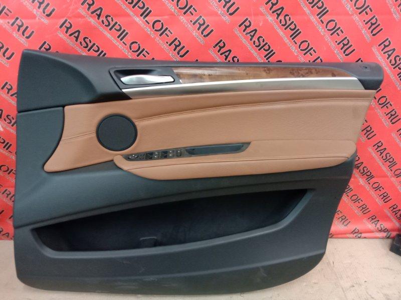 Обшивка двери Bmw X5 E70 N62B48 2008 передняя правая