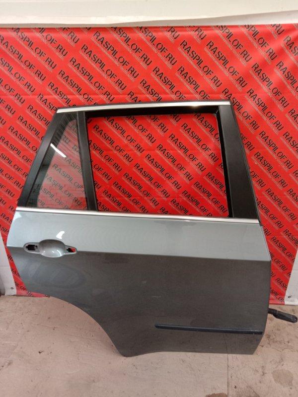 Дверь боковая Bmw X5 E70 N62B48 2008 задняя правая