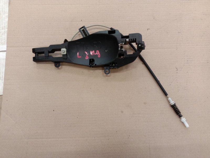 Ручка наружная Bmw X5 E70 N62B48 2008 задняя левая