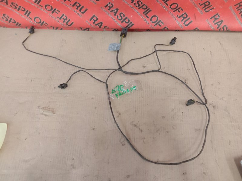 Электропроводка Bmw X5 E70 N62B48 2008 передняя