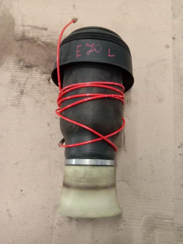 Пневморессора Bmw X5 E70 N62B48 2008 задняя левая