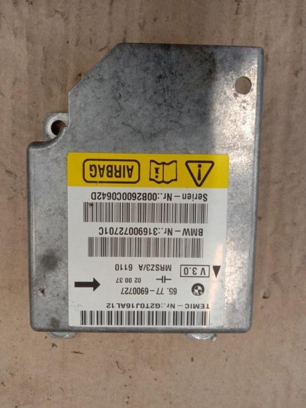 Блок управления air bag Bmw X5 E53 M54B30 2002