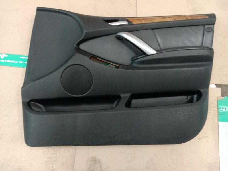Обшивка двери Bmw X5 E53 M54B30 2002 передняя правая