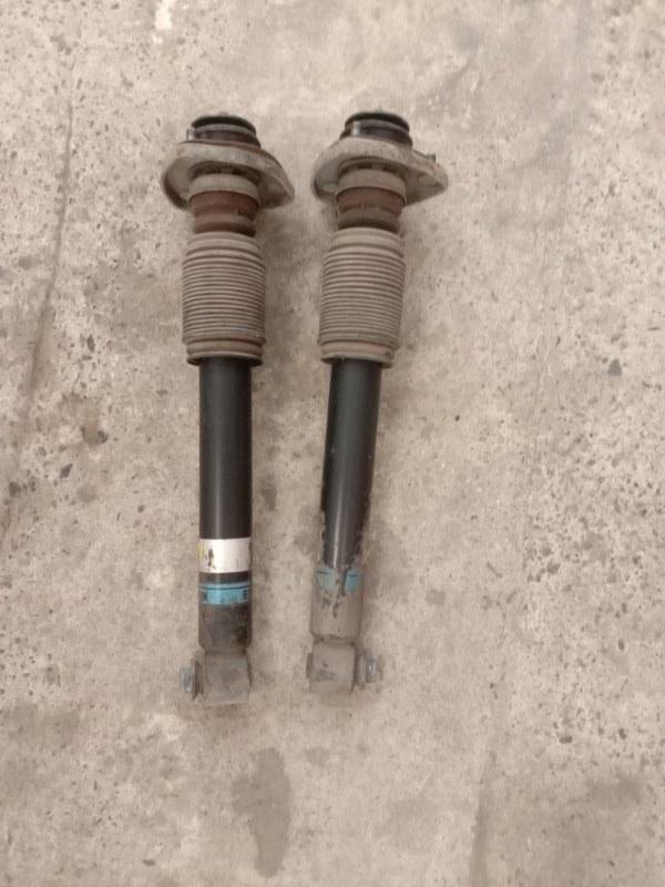 Стойка подвески Bmw X5 E53 M54B30 2002 задняя