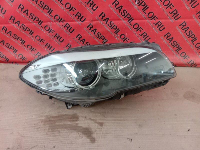 Фара Bmw 5-Series F 10 N52B30A 2010 правая