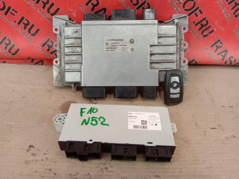 Блок управления двс Bmw 5-Series F 10 N52B30A 2010
