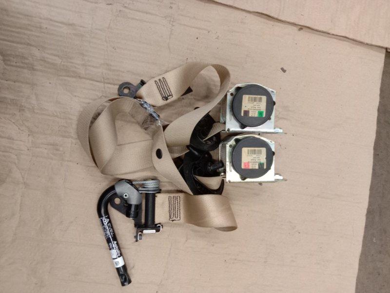 Ремень безопасности Bmw 5-Series F 10 N52B30A 2010 передний