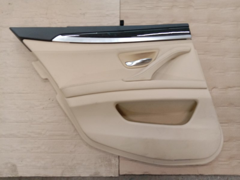 Обшивка двери Bmw 5-Series F 10 N52B30A 2010 задняя левая