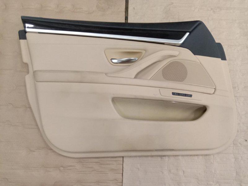 Обшивка двери Bmw 5-Series F 10 N52B30A 2010 передняя левая