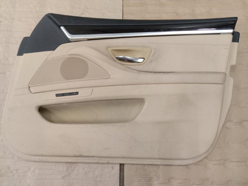Обшивка двери Bmw 5-Series F 10 N52B30A 2010 передняя правая