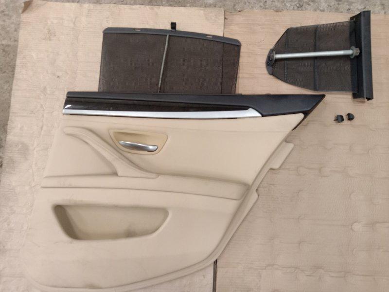 Обшивка двери Bmw 5-Series F 10 N52B30A 2010 задняя правая