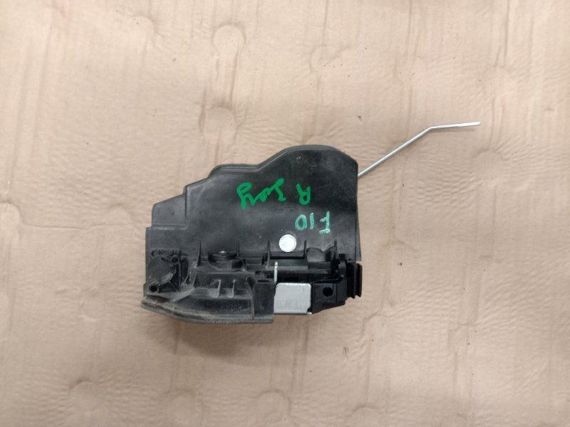 Замок дверной Bmw 5-Series F 10 N52B30A 2010 задний правый