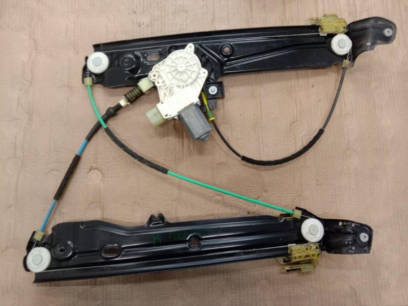 Стеклоподъемник Bmw 5-Series F 10 N52B30A 2010 передний правый