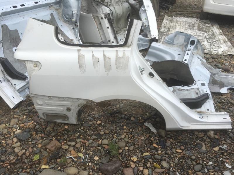 Крыло Toyota Corolla Fielder NZE144 1NZ-FE 2010 заднее правое
