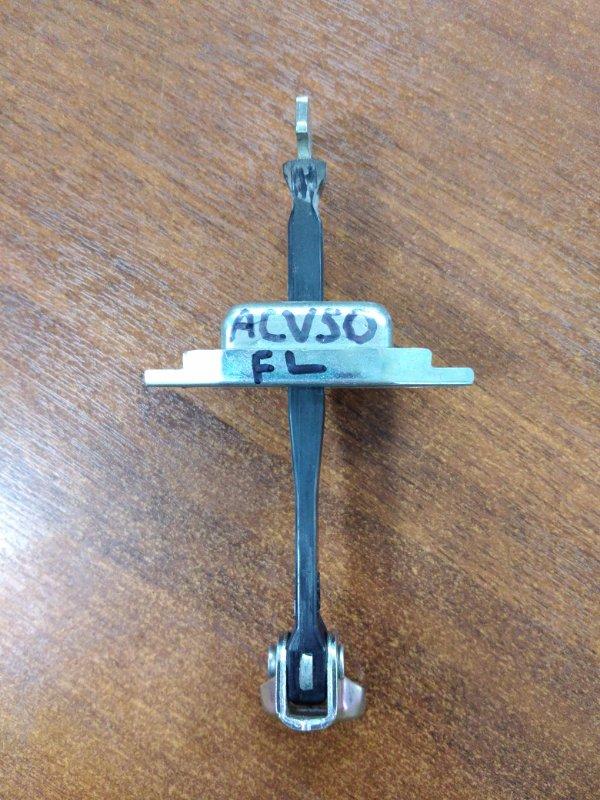 Ограничитель двери Toyota Camry ASV50 2AZ-FE 2012 передний