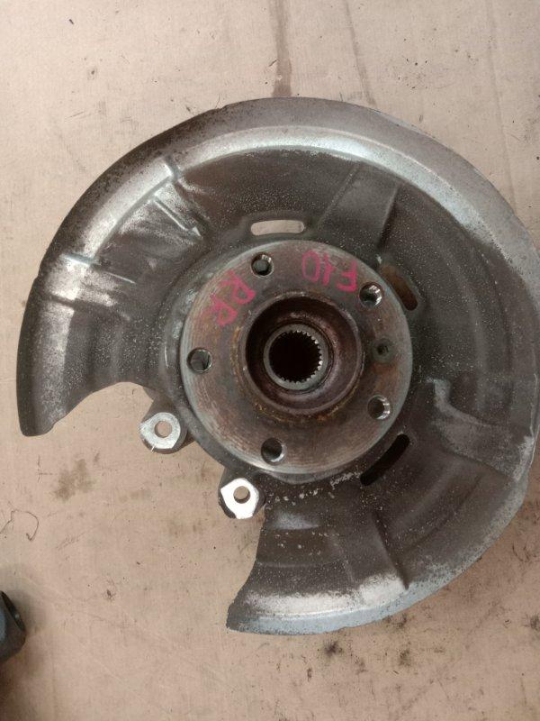 Ступица Bmw 5-Series F 10 N52B30A 2010 задняя правая