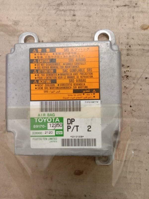 Блок управления air bag Toyota Corolla Runx ZZE123 2ZZ-GE 2001