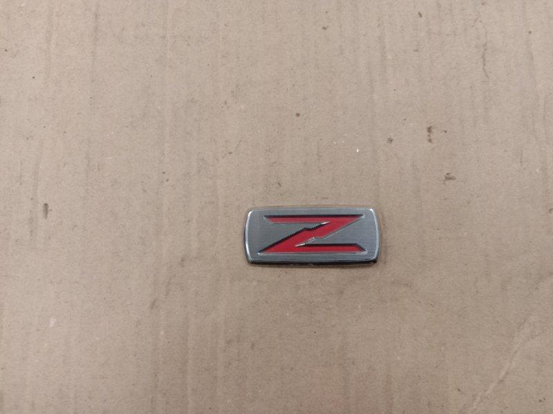 Эмблема Toyota Corolla Runx ZZE123 2ZZ-GE 2001