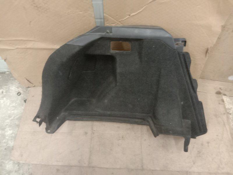 Обшивка багажника Toyota Corolla Runx ZZE123 2ZZ-GE 2001 задняя левая